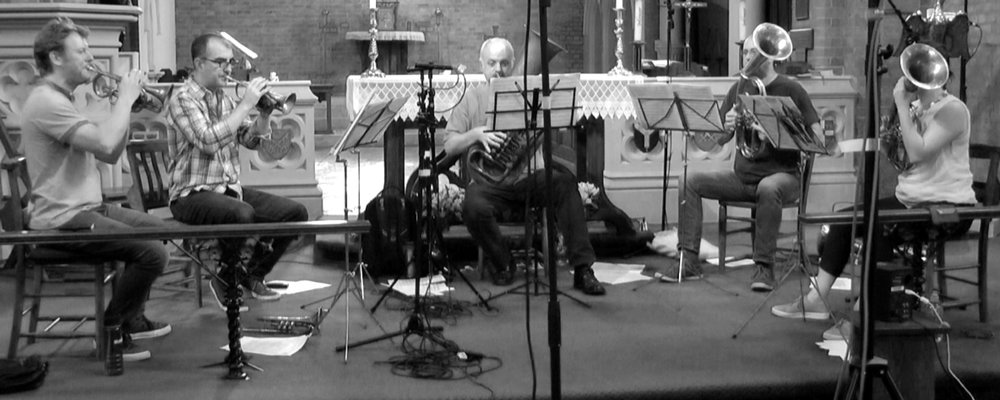 The Prince Regent's Band: Richard Fomison, Richard Thomas, Jeff Miller, Phil Dale & Anneke Scott.