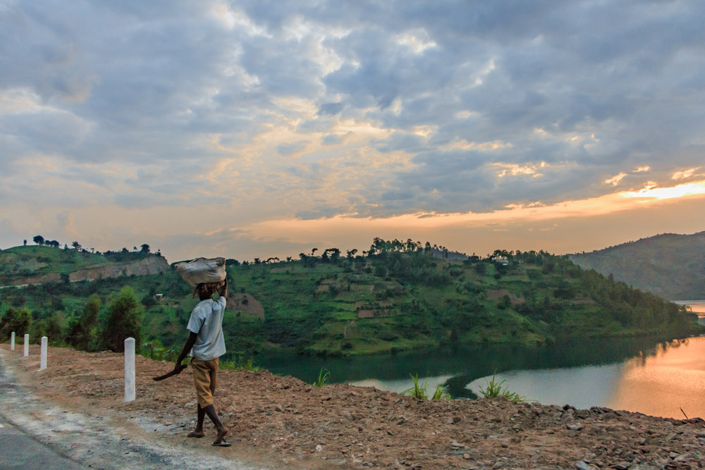 The road from Rwanda to the Congo.