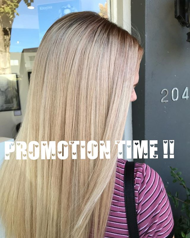 ❗️ PROMO TIME❗️ From November 6th til November 16th Jaime @yyjhairbyj will be offering a 💛FREE 💛 haircut with any colour or highlight service ! Just mention this promotion when in the salon to apply !!!!! . . . #yyjhair #promo #hair