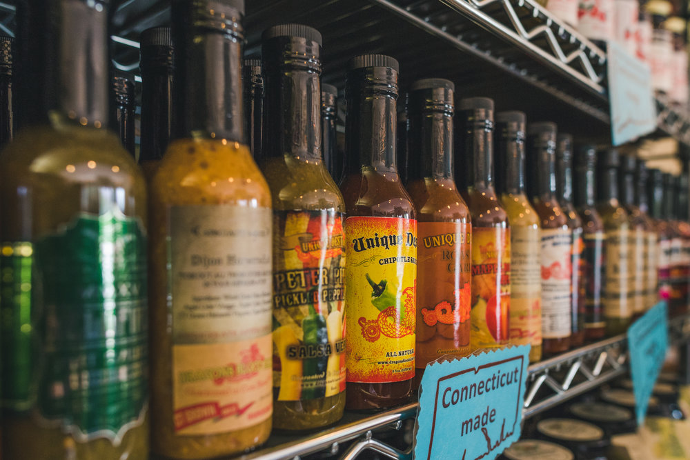 Connecticut Hot Sauces.