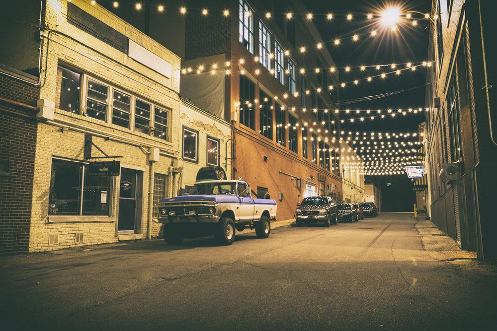 Photo of Buckham Alley in 2015 by Eric Hergenreder