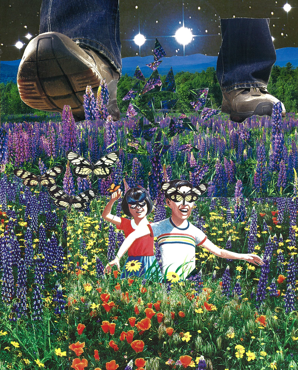 Their Imagination Chased Them Through the Fields