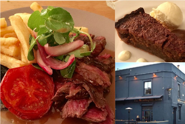 The Kensington Arms might just be the best pub food in Bristol