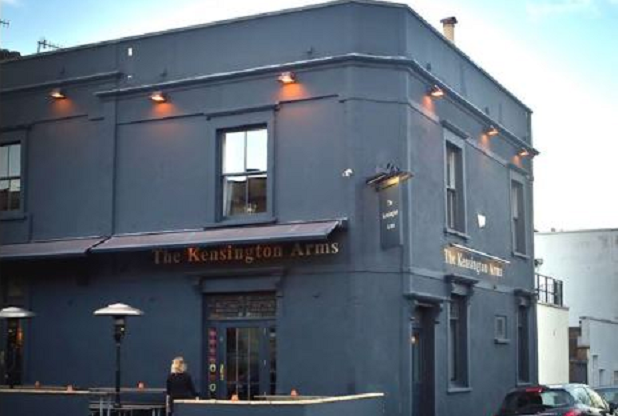 The Kensington - or Kenny as the locals refer to it - is part of a foodie hotspot in the area. Also nearby are the Michelin-starred Wilks and No Man's Grace, two of the city's best restaurants.