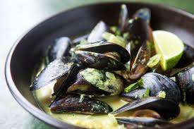 Mussels Sautéed in Kelp, White Wine & Butter - The flavors of the ocean combine deliciously in this simple dish that's sure to become a regular on the dinner table.