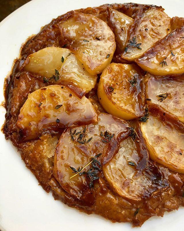 Turnip tarte tatin 👅