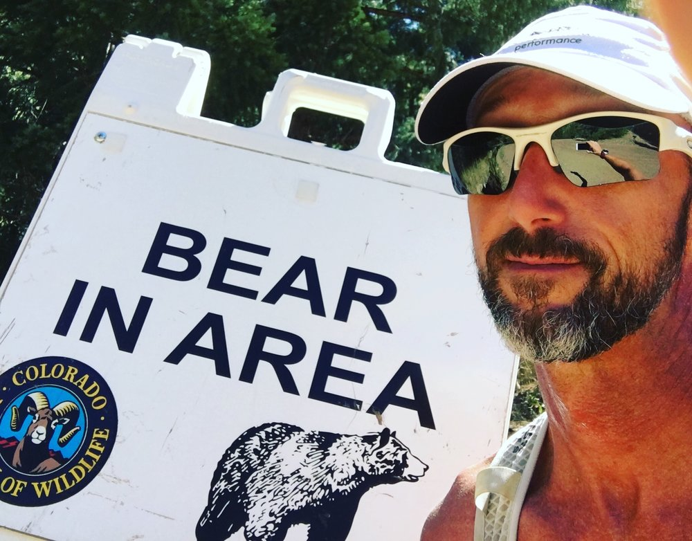 Luckily, I didn't run into any bears this week!