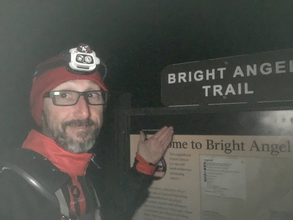 The start. Bright Angel trail.