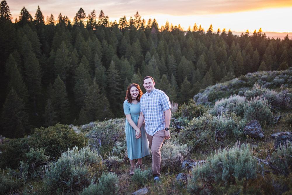 Rexburg Idaho Engagement Photography Jackson Hole Engagement Photography by Look For The Light Photo Video