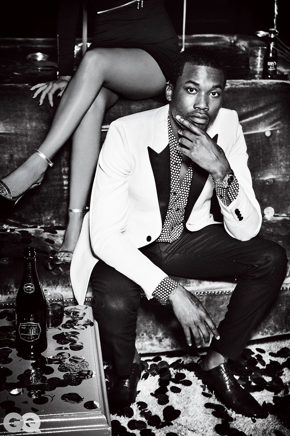 MEEK MILL FOR GQ MAGAZINE