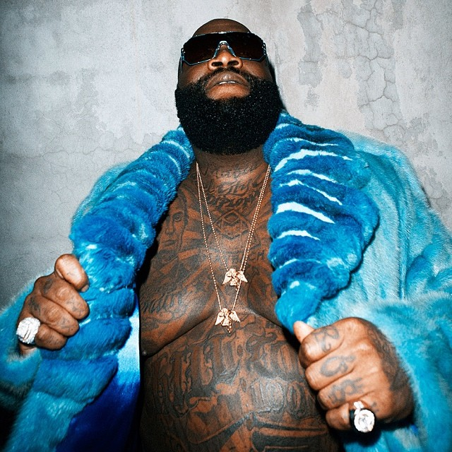 RICK ROSS FOR THE SOURCE MAGAZINE