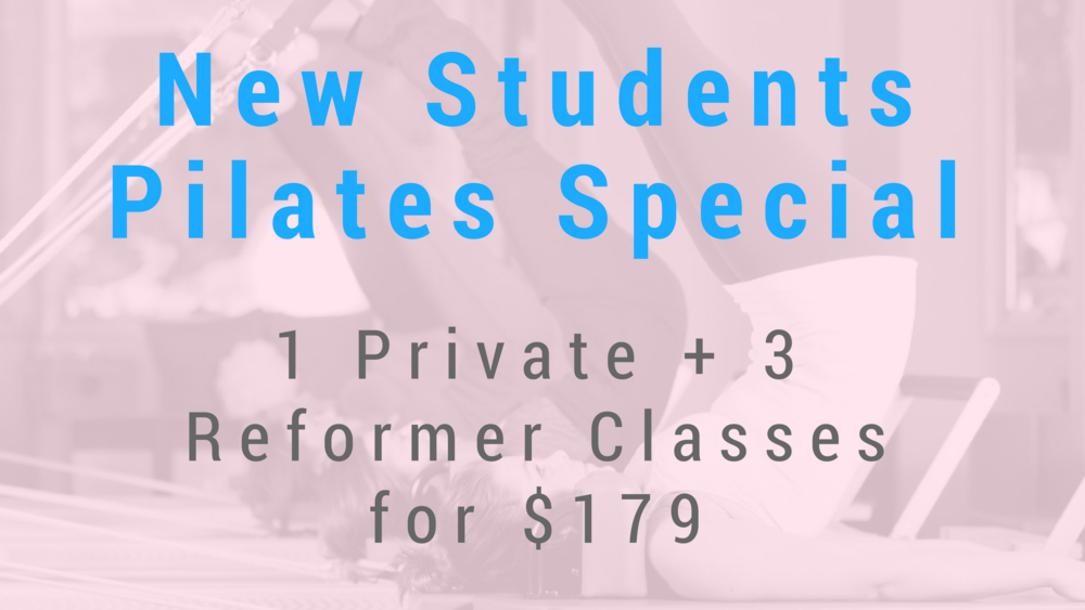 New Students Pilates Special - Revolution Fitness