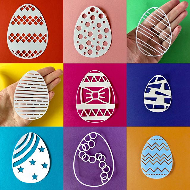 Can you believe it's almost Easter. It's come around fast this year despite my daughter having a countdown since Christmas. Check out these svg Easter egg files. Link in bio. #svgfiles #svgcutfiles #svgcuts #svgeaster #eastereggs