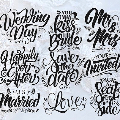 9 Wedding quotes, perfect for the up and coming wedding season. These look great over photographs or on wedding stationary. They can also be cut using craft cutting machines to make beautiful wedding craft projects. Link in bio  #weddingsvg #svgfiles #svgcutfiles #svgcuts #silhouettecameo #cricutexplore #photooverlay #craftprojects #ukcrafts #etsyuk #creativemarket #thehungryjpeg