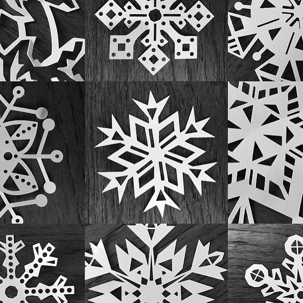 Snowflakes in March....It's a thing in the UK this year. We've had so much snow, built snowmen and loved it, in March. However I'm so happy spring has arrived, the sunshine ☀️ makes my heart sing. These snowflake svg cut files can be put away until next winter ❄️ #svgdesigns #svgcuts #svgcuttingfiles #digitaldesign #silhouettecameo #cricut #cricutexplore #papercraft