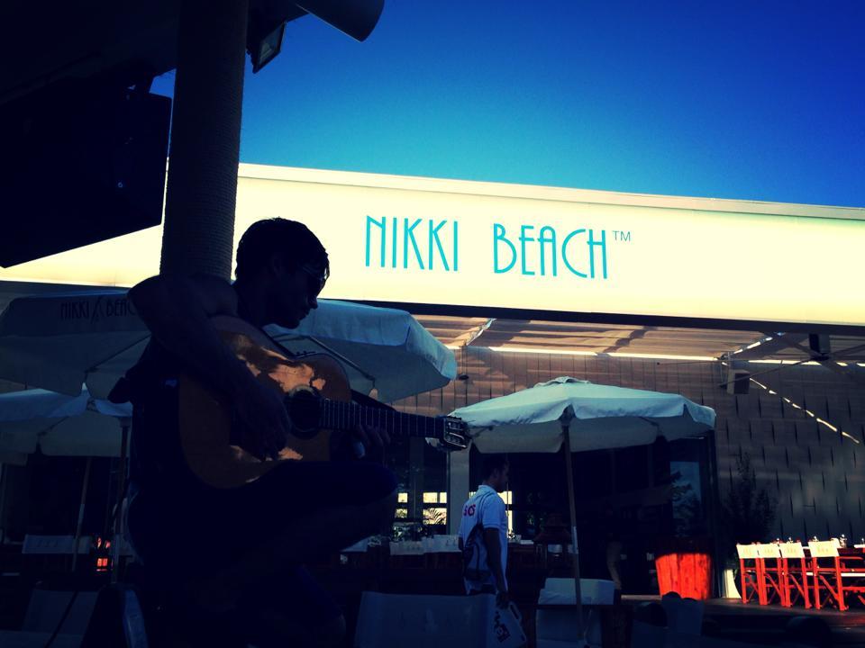 Nikki Beach. Ibiza. 2013.