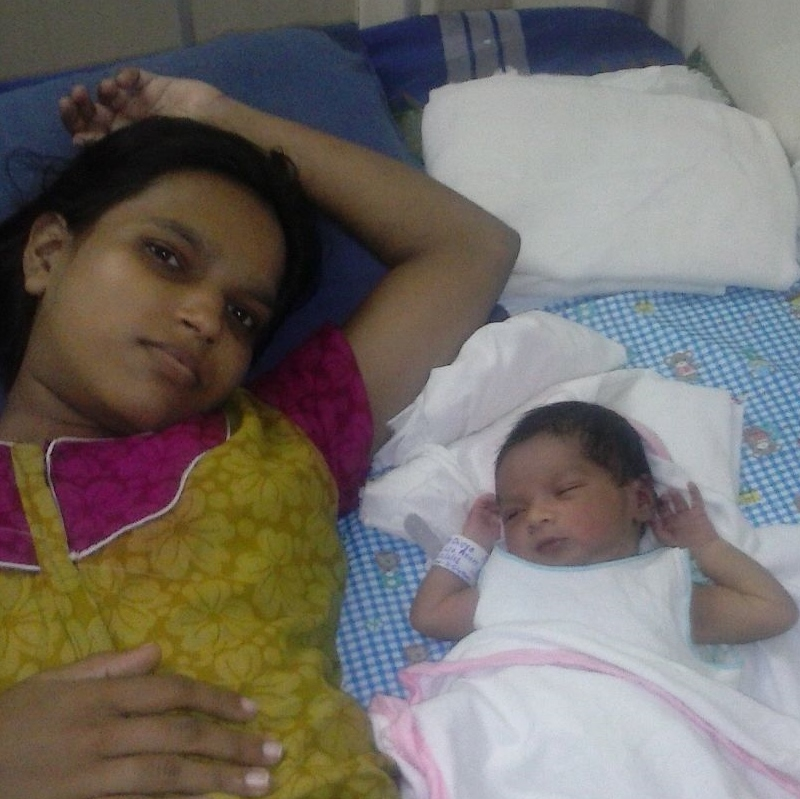 Divya and baby pic