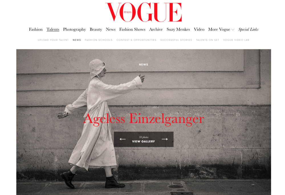 VOGUE Italia - SS19 OCTOBER 5, 2018 by CECILIA MUSMECI