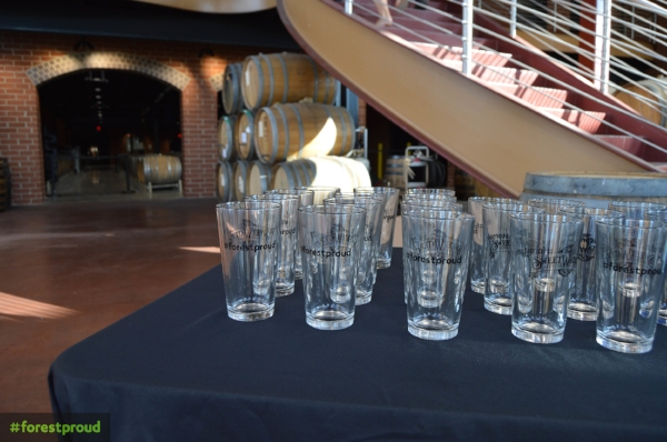 Sweetwater Brewery and #forestproud glasses, the best partnership ever formed!