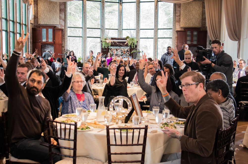 2018 Peace Heroes Awards Attendees United for Peace.