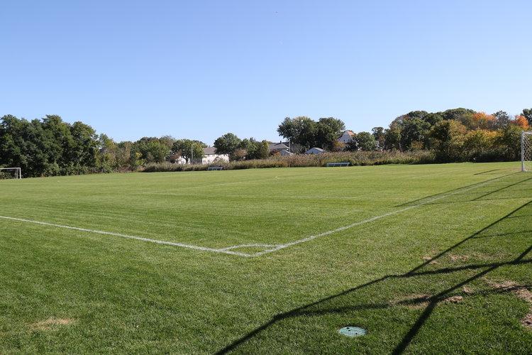 Wonderful athletics fields.
