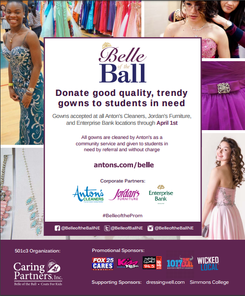 PLEASE DROP OFF YOUR GOWNS TO MS.IOLLI.  THANK YOU FOR MAKING A DREAM COME TRUE!!