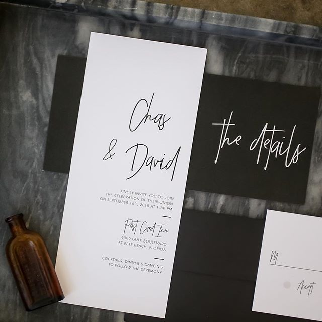 Super nice shot of our minimalist invitation set (available on Etsy!) by @lifelongphotographystudio for this amazing industrial styled shoot designed by @blueskiesevents 🖤 Thank you so much for your trust! 🙏🏼 Featured on @tacariweddings blog! 🙌🏼 Yayy!! // #modernstationery #modernweddinginvitation #weddinginvitation #modernwedding #etsyshop #etsywedding #etsyseller #whitewillowpaperco #blackandwhite #minimalist #styledshoot #stationery