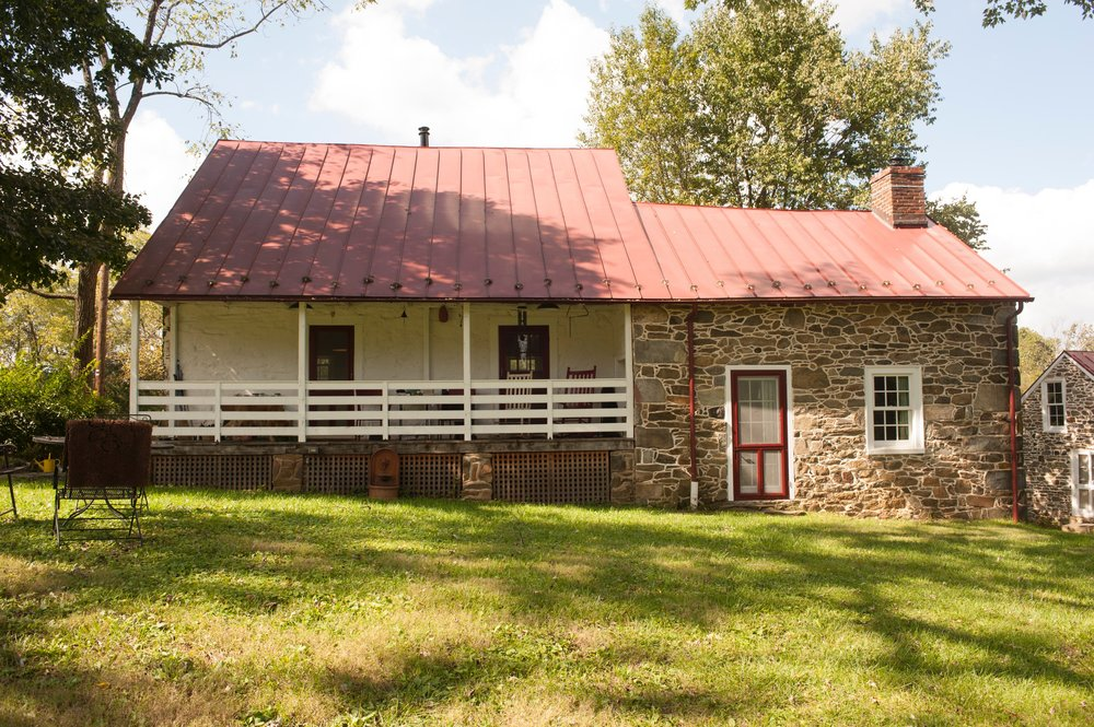 Cochran's worked with owners Gail and Perry Epes to restore this 1740s home.