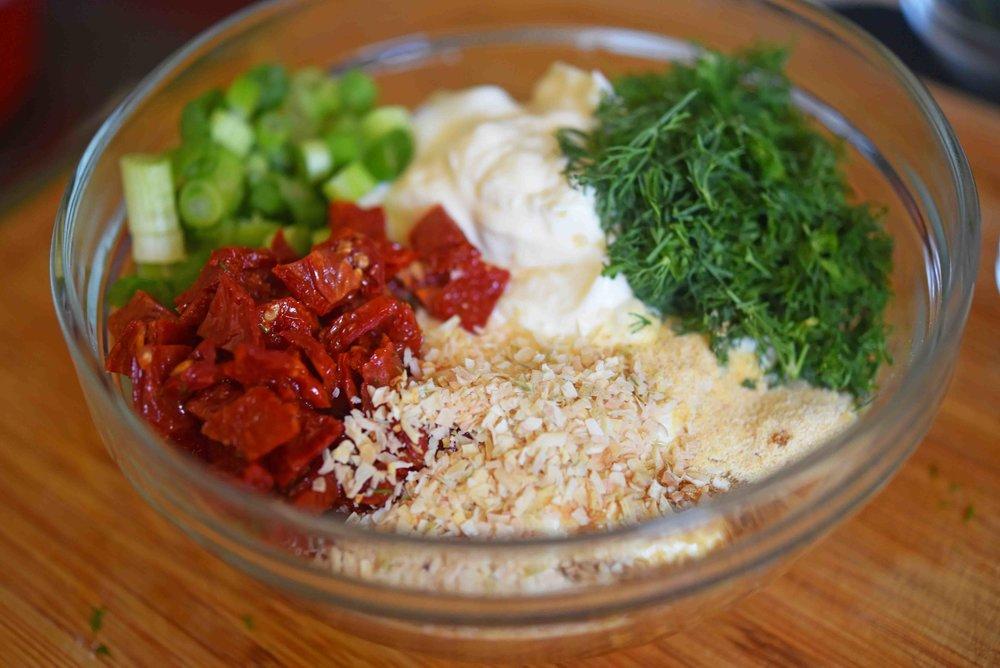 Jack-o-Lantern Veggie Dip Bell Peppers 2.jpg