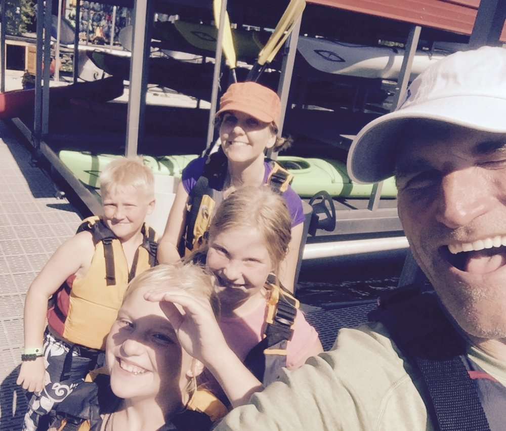 Kayaking in Montlake Cut