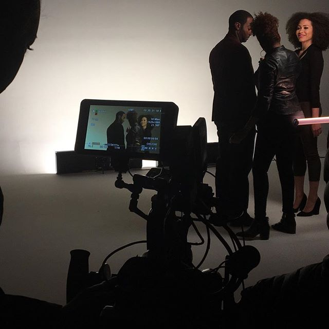 BTS of our last commercial for Lottabody: Kiss A Stranger 💕#workflow #tb