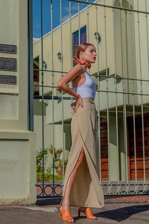 Nane Miller - Bodysuit Eli / wrap pant