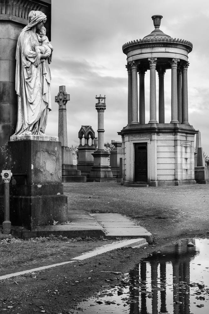 Glasgow Necropolis Tomb Stones Crypts