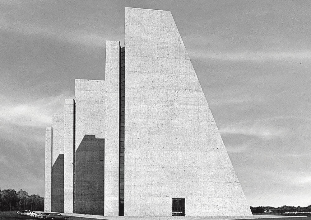 College Life Insurance Company Of America Headquarters, Kevin Roche John Dinkeloo & Associates, Indianapolis, Indiana, USA, 1972. Picture credit: Courtesy of Kevin Roche John Dinkeloo and Associates