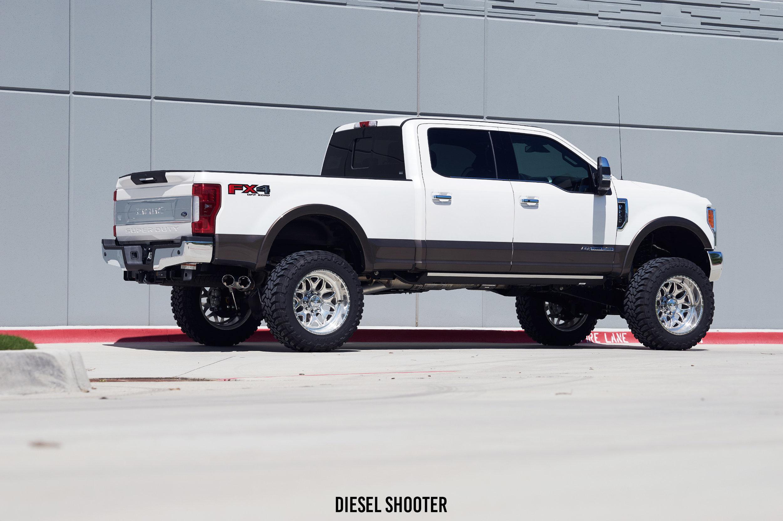 Best Off Road Tires For Trucks >> 2017 Ford F250 Platinum - Fuel Off-Road - FTS — Diesel Shooter