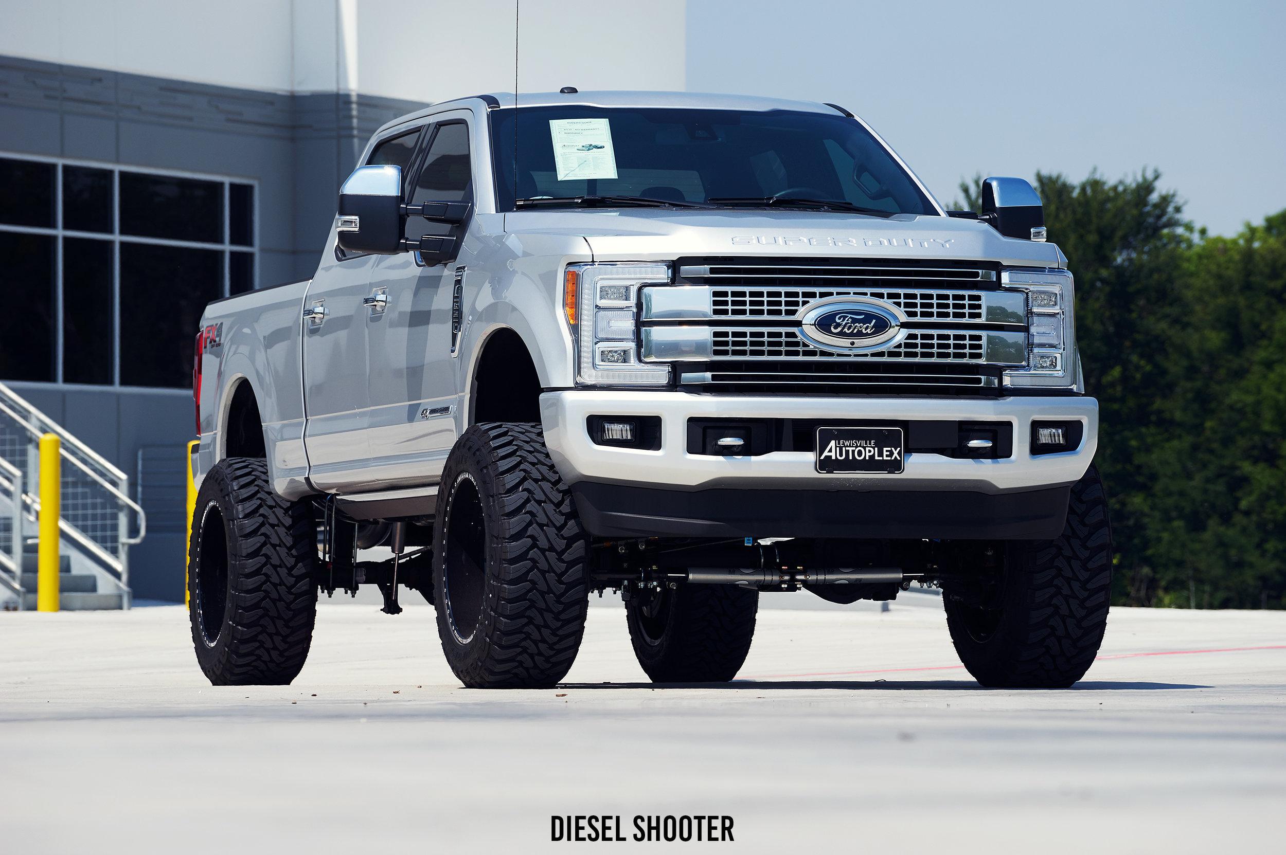 2017 Ford F250 Platinum Fuel Off Road Fts Diesel Shooter