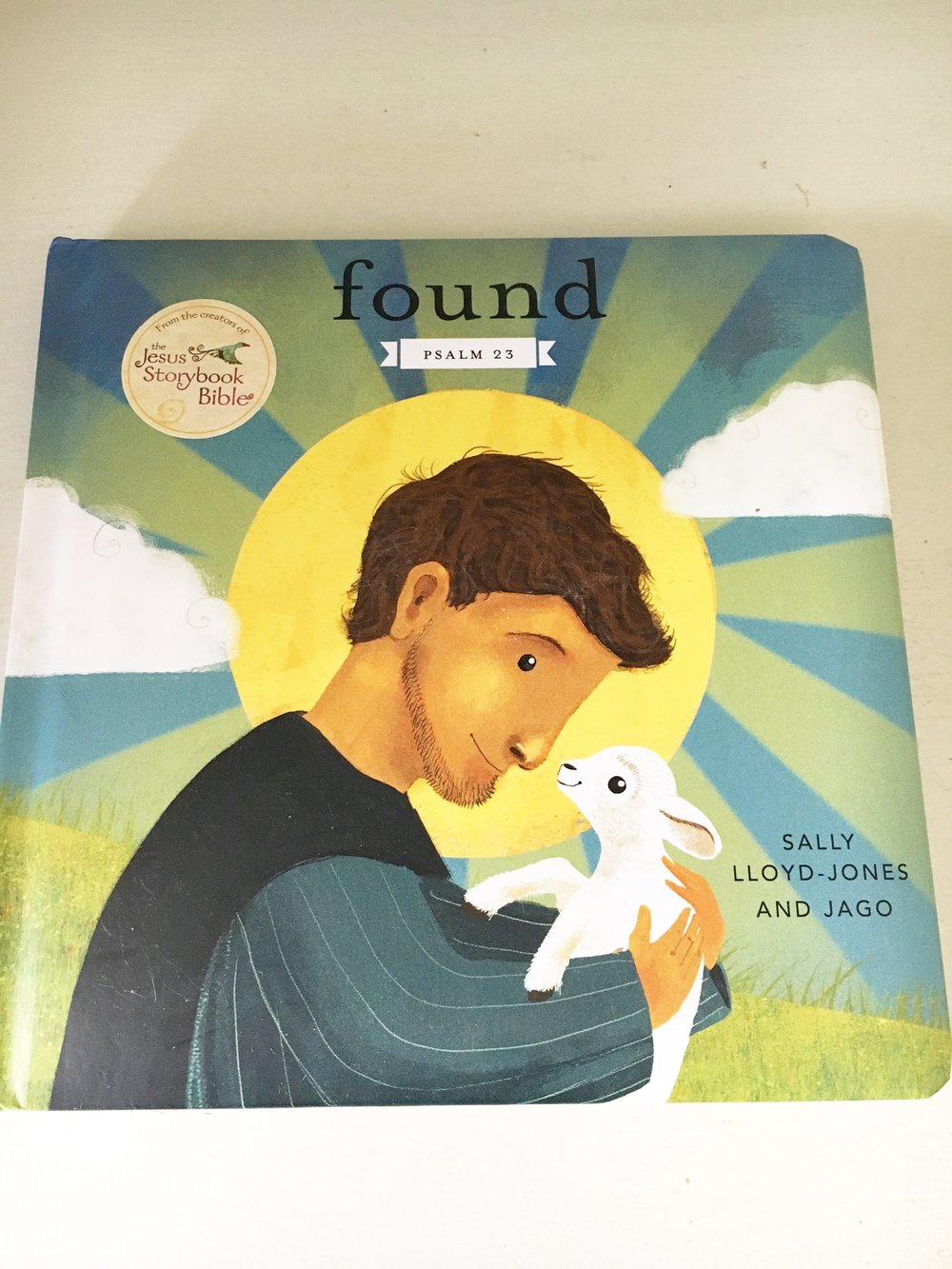 Found   little ones will fall in love with this padded cover board book that reminds them of God's Never Stopping, Never Giving Up, Unbreaking, Always and Forever Love.