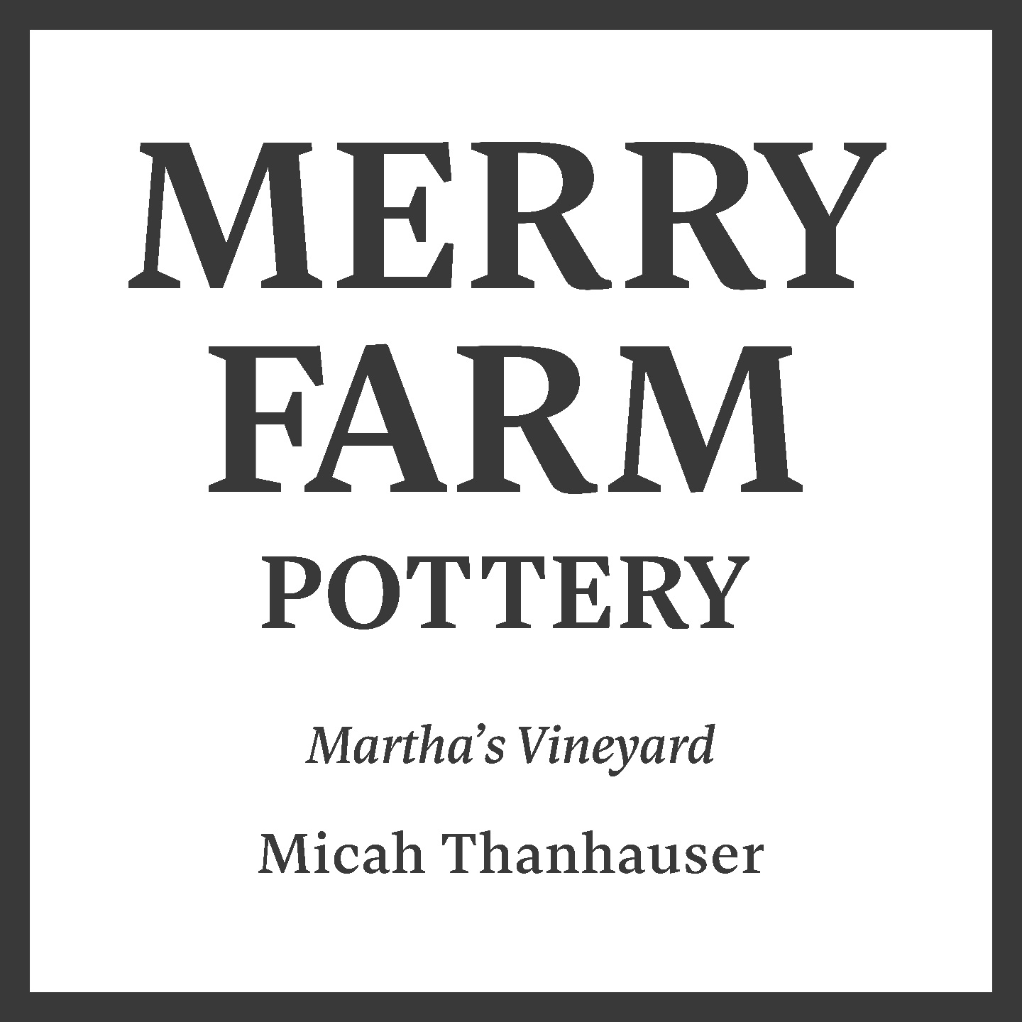 Merry Farm Pottery