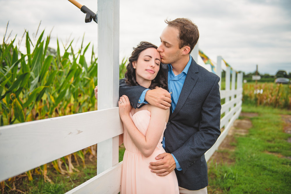 Sunflower farm engagement shoot _ Johnson's Locust Hall Farm _ Jobstown NJ-21.jpg