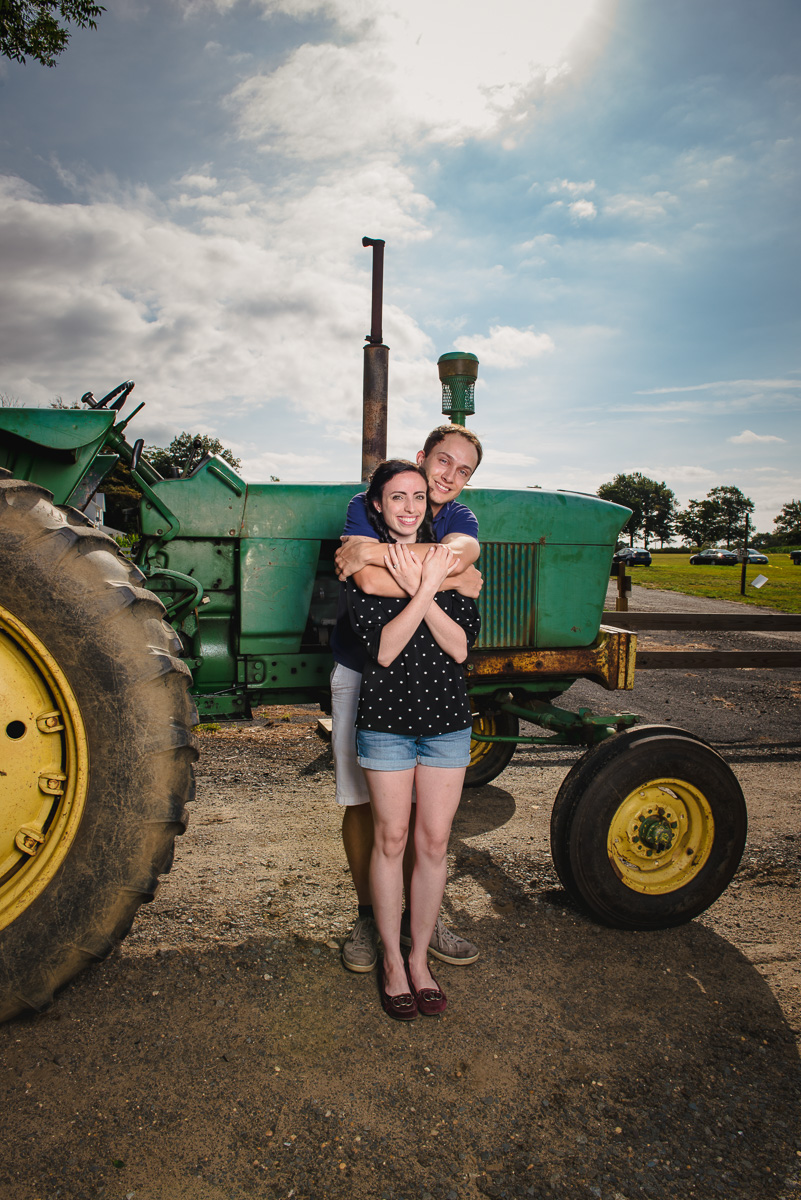 Sunflower farm engagement shoot _ Johnson's Locust Hall Farm _ Jobstown NJ-26.jpg