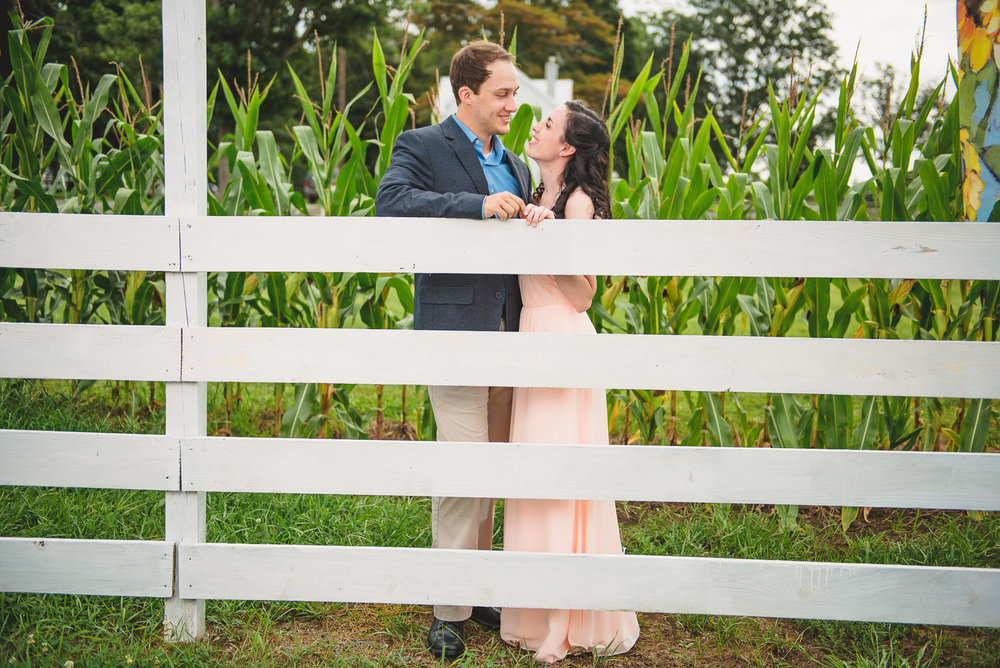 Sunflower farm engagement shoot _ Johnson's Locust Hall Farm _ Jobstown NJ-34.jpg