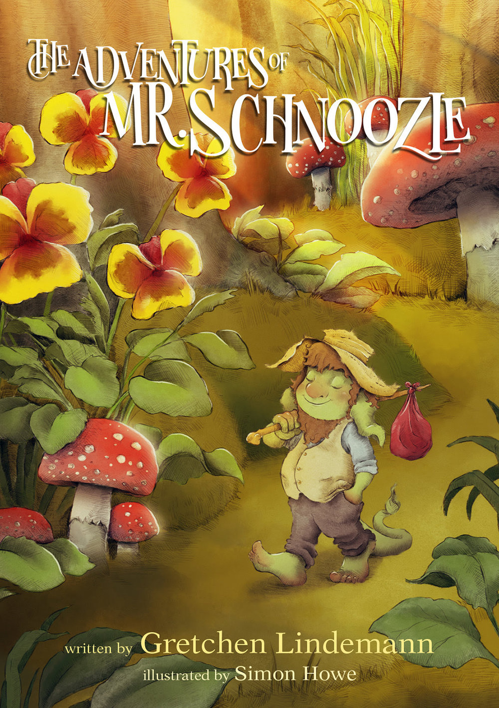 The Adventures of Mr. Schnoozle Cover by Simon Howe.jpg