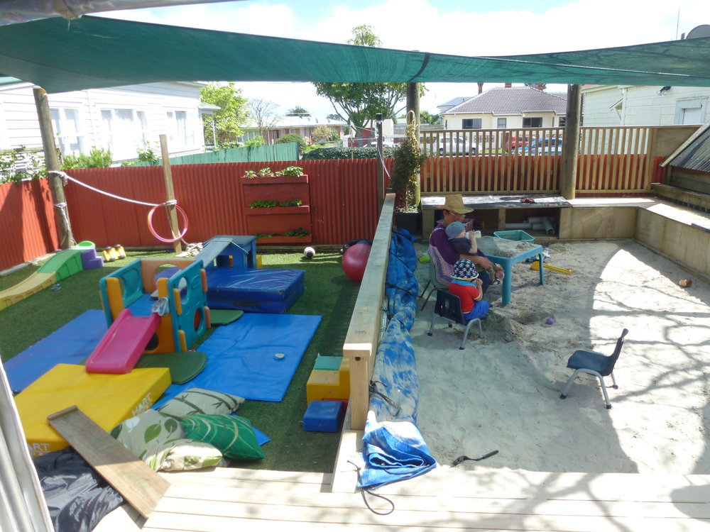 Under 2s Outdoor Area