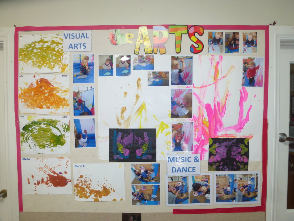 Under 2s 'The Arts'