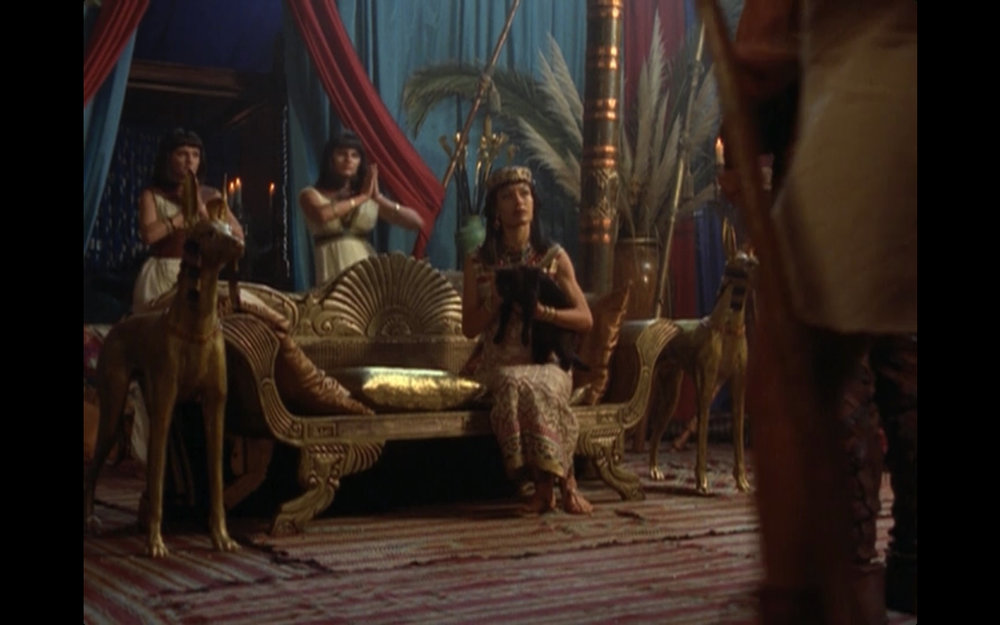 "Figure 2: Anakit's Orientalism in the  Hercules: the Legendary Journeys  episode ""Mummy Dearest"" (3.4). Image credit: screen capture (MCA Television/Renaissance Pictures)."