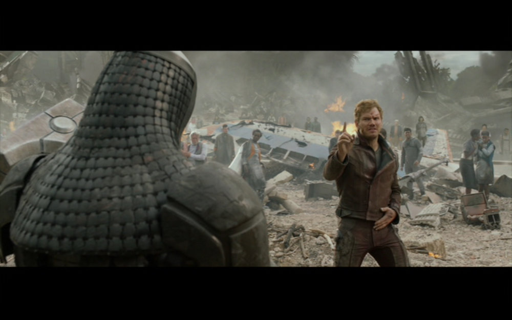 Figure 3: Star-Lord's dance-off victory over Ronan the Accuser.