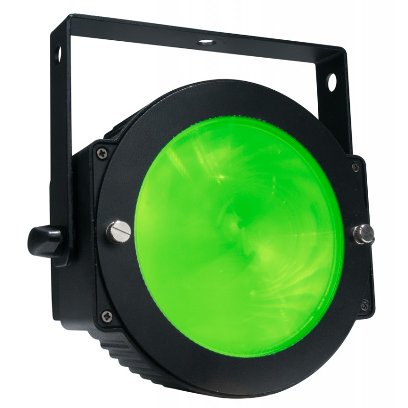 American DJ Dotz Par    The ADJ Dotz Par uses advanced COB (Chip On Board) technology allowing for a powerful LED engine to be placed in a small amount of space. The result is a high output, smooth color mixing LED Par with...