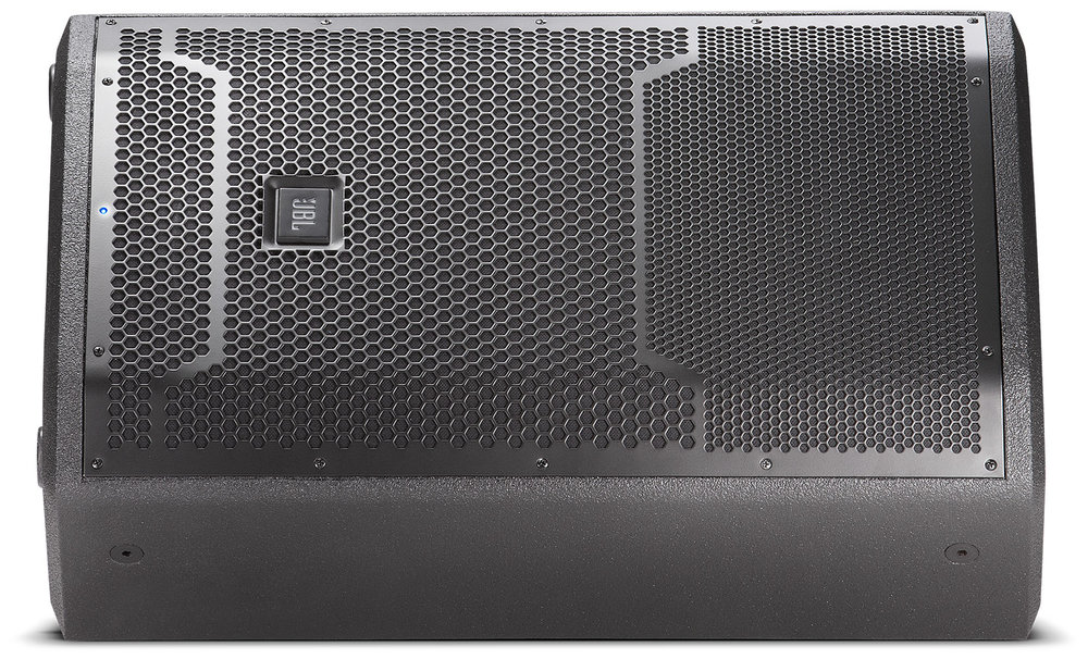 "JBL PRX 12"" Powered Speaker   PRX712 is a compact and versatile speaker in the PRX700 Series. It has been designed to deliver maximum performance for its weight and size as both a stage monitor and a front of house main PA."