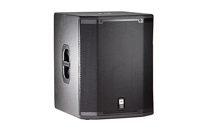 "JBL PRX 18"" Powered Subwoofer   PRX418S is an eighteen inch subwoofer which, when combined with the two-way models, provides a sub/sat system capable of generating 135 dB of full-range, high quality audio"