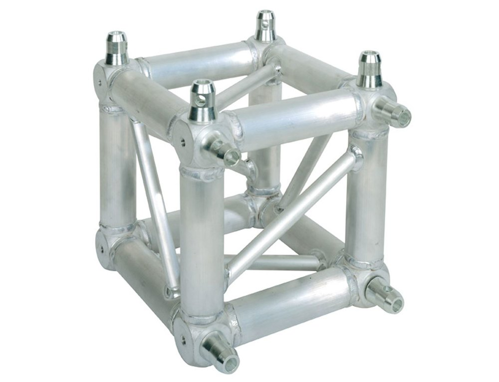 Global Truss Universal Junction Box   Universal Junction Box from Global Truss for all 'pin together' F34 Trussing. Connects up to 6 sides of trussing.